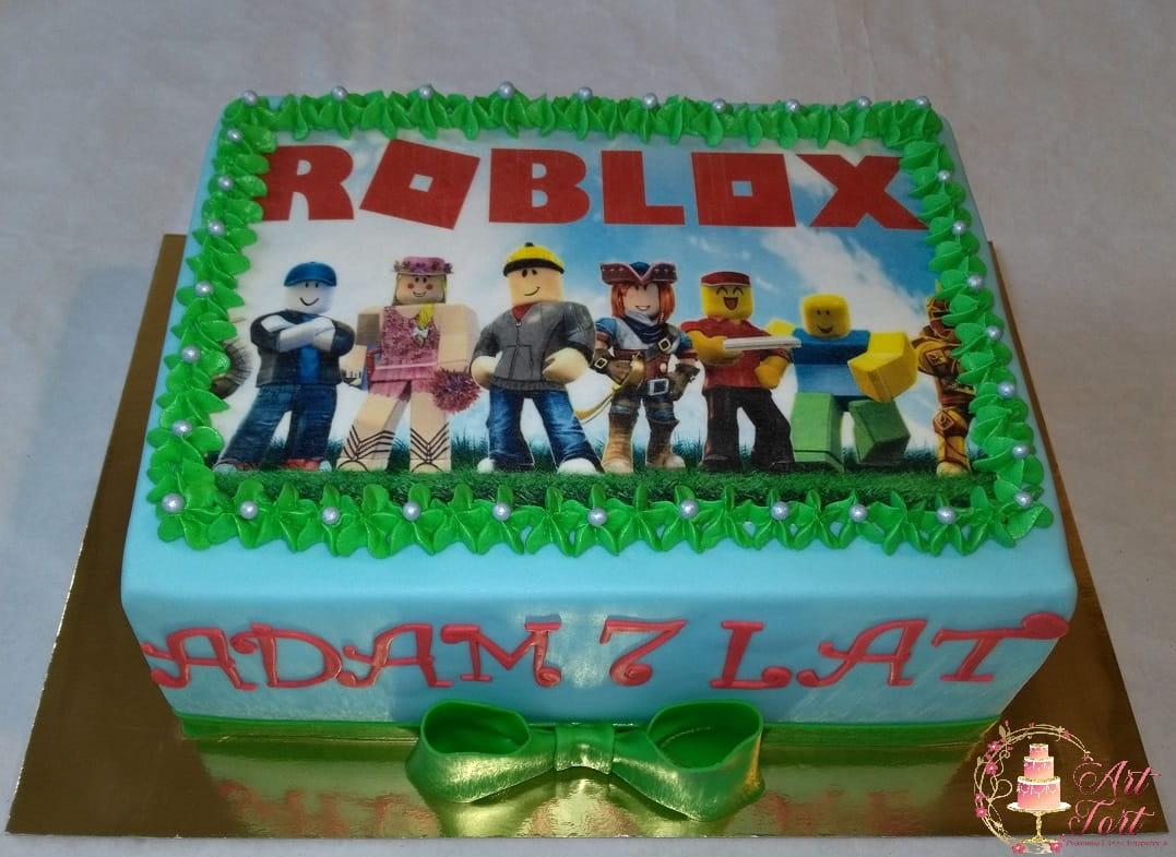 Tort Lego Roblox Art Tort